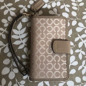 Coach iPhone case for 5 and 5SE only